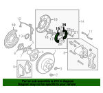 Brake Shoes - Nissan (44060-AR06K)