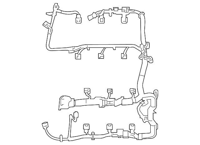 ford explorer engine wiring harness ford du5z 12a581 ba tasca rh tascaparts com 2002 ford explorer engine wiring harness ford explorer 2008 engine wiring harness