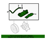 Thermostat Housing - Audi (07D-121-111-AN)