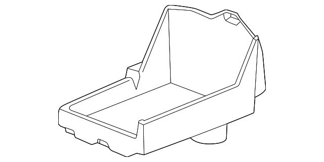 Genuine Ford Battery Tray Ar3z 10732 B