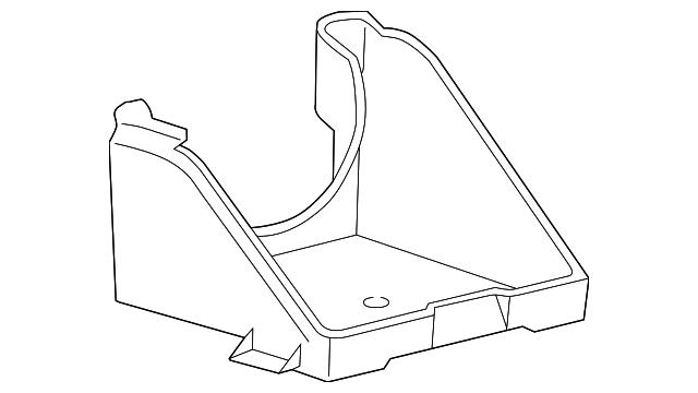 Genuine Ford Battery Tray F65z