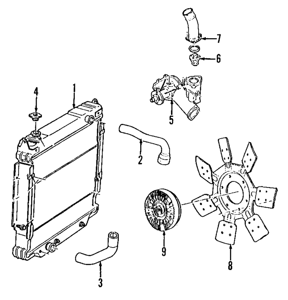 Genuine Ford Thermostat Housing BL3Z-8592-C