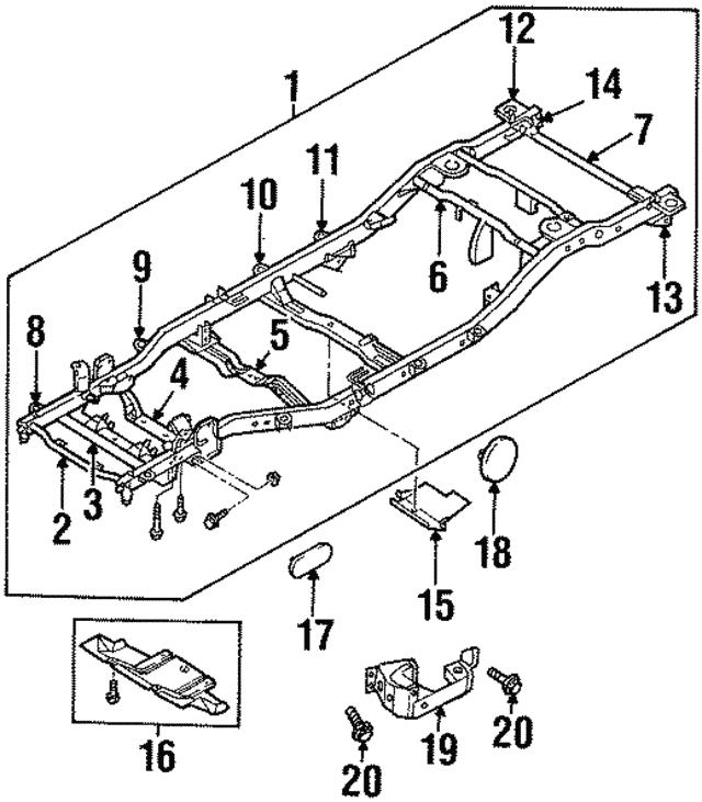 isuzu axiom wiring diagram database Isuzu NPR Fuel Tank Diagram cab mount bracket isuzu 8973018290 world oem parts subaru isuzu super cruiser cab mount bracket isuzu