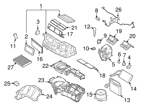 Chevy Express Trailer Wiring Diagram likewise Starter 1972 Chevy Truck Wiring Diagram besides Oil Filter Diagram also 2011 Ford Fiesta Wiring Diagram additionally Glove Box Diagram 2006 Honda Pilot. on where is the fuse box on a 2014 ford fusion