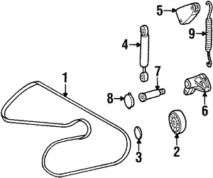 Power Steering Belt