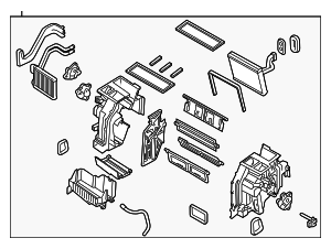 AC & Heater Assembly - Kia (97100-4C400)