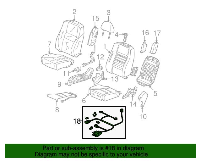 Honda Genuine 81238-TE0-A01ZA Seat Reclining Cover