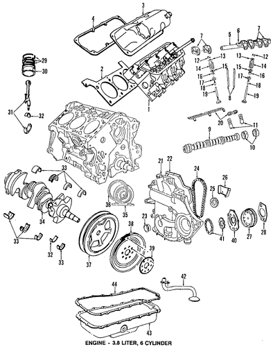 Engine Parts For 2007 Jeep Wrangler Parts