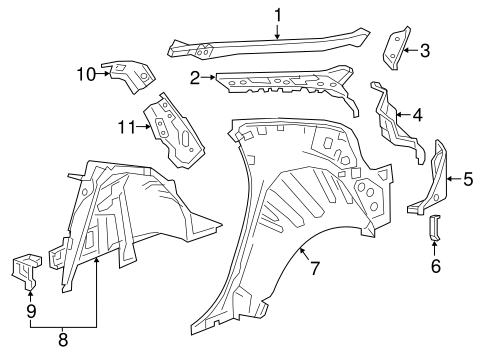 Inner Structure for 2016 Chevrolet Volt #0