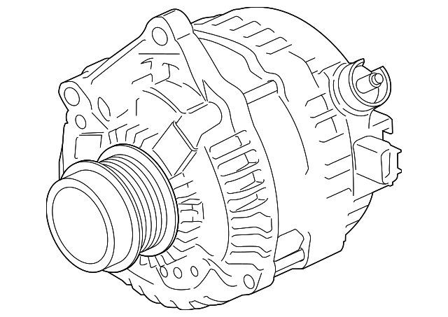 Genuine Ford Alternator Hl3z 10346 C