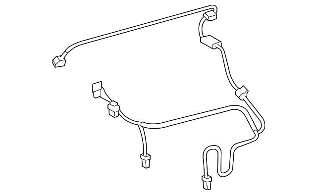 2006 toyota rav4 wire harness 82212