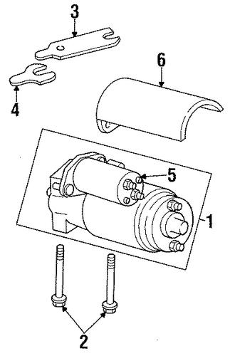 gmc k1500 pickup bolt 1991