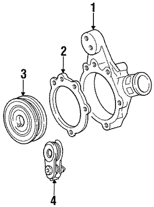 Belt Tensioner - Ford (F5RZ-8W508-A)