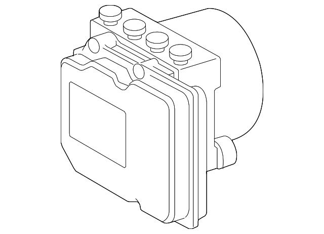 2007 2009 Toyota Camry Modulator Valve 44050 33240