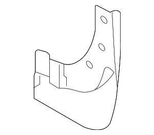 Mud Guard - Nissan (63855-JM00A)
