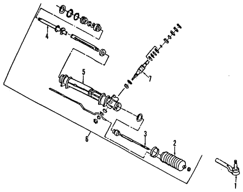 Steering Column for 1991 Chrysler Town & Country #0