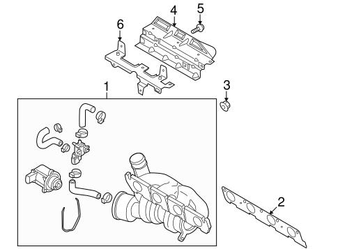 Exhaust Manifold For 2011 Volkswagen Tiguan