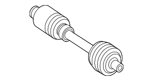 Axle Assembly - Mercedes-Benz (211-330-17-01)