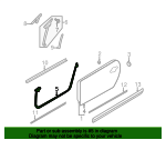 Door Seal - Nissan (80831-1GR0A)