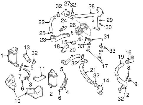 Intercooler For 1999 Audi A4