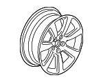 Disk, Aluminum Wheel (19X8 1/2J) (Aap Seat Mary's)