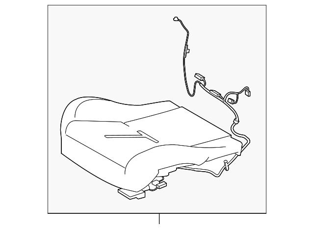2012 2015 Jaguar Xkr S Occupant Sensor C2p23052