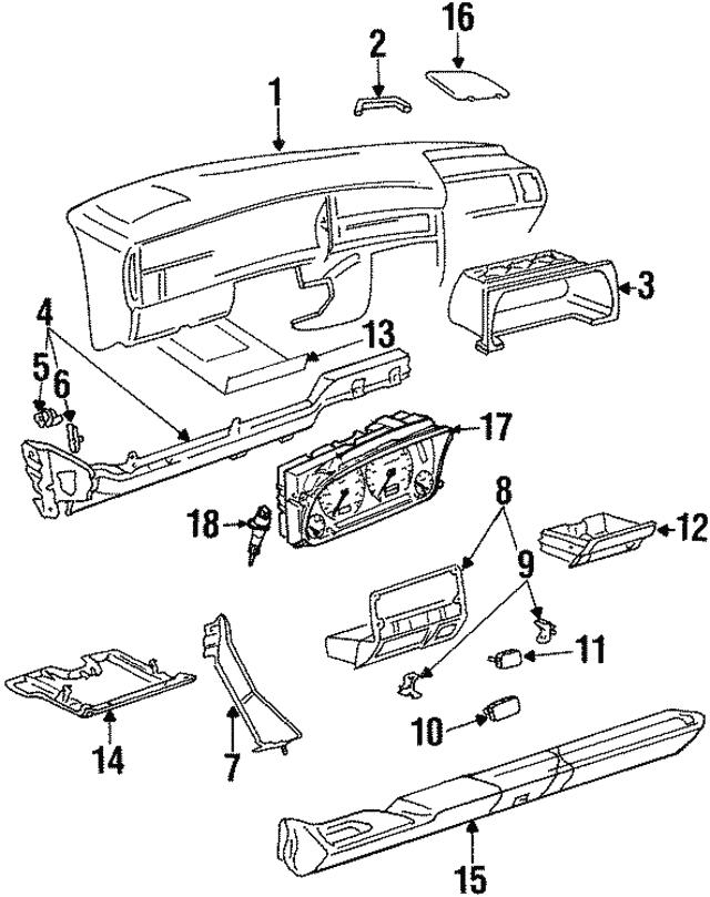 1993 2002 Volkswagen Speedometer Sensor 1h0 919 149 A