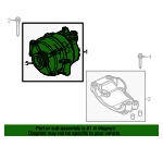 Alternator - Ford (CC3Z-10346-A)
