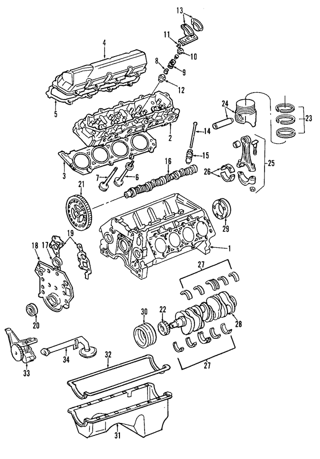 Crankshaft - Ford (3C3Z-6V303-AARM)