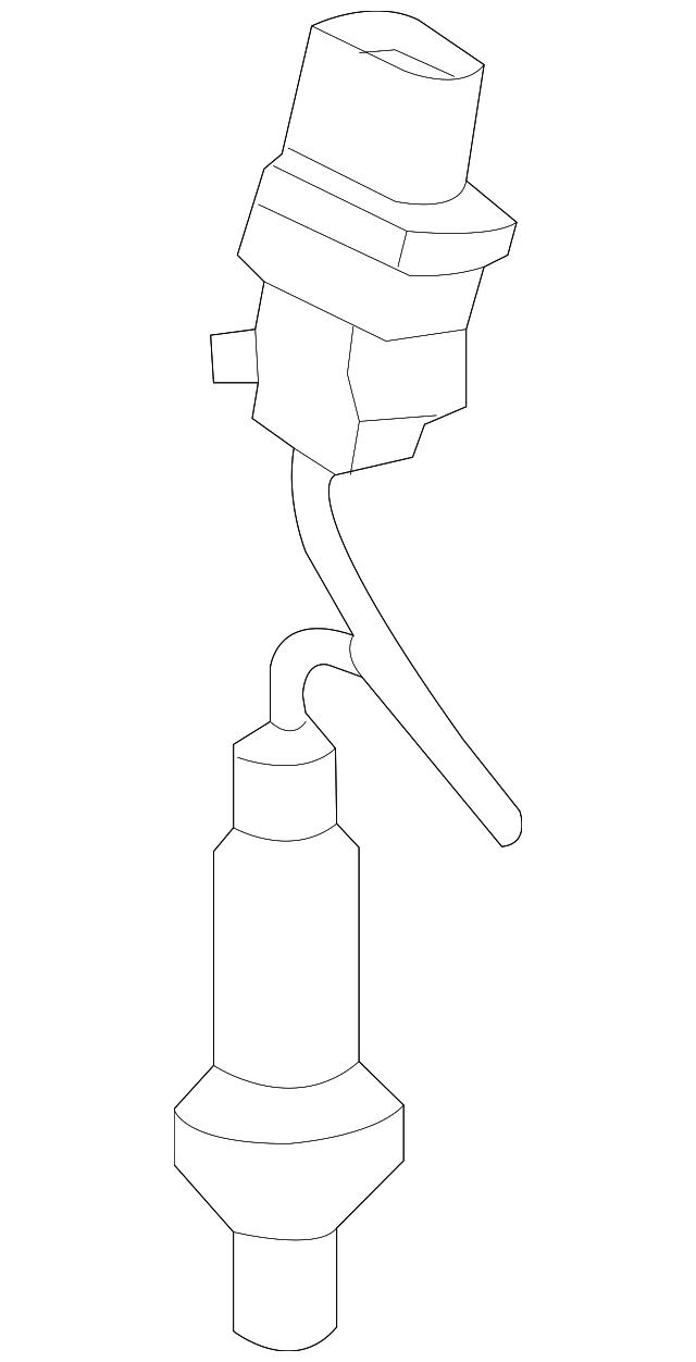 Genuine Ford Oxygen Sensor E1gz