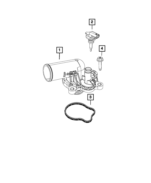 Thermostat Seal - Mopar (68212516AA)