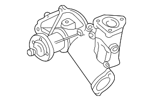 Water Pump - Ford (XU2Z-8501-EA)