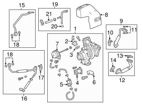 2013 chevrolet malibu engine diagram turbocharger   components for 2013 chevrolet malibu gmpartonline  components for 2013 chevrolet malibu