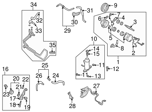 Pump Hoses For 2001 Mazda 626 Quirk Parts. Steeringpump Hoses For 2001 Mazda 626 Genuine Oem Parts 1. Mazda. 2001 Mazda 626 Exhaust System Diagram At Scoala.co
