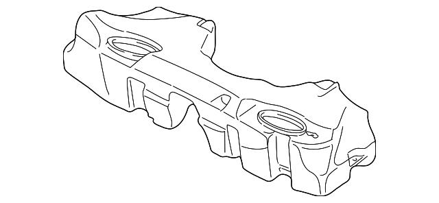 1997 2001 Bmw Fuel Tank 16 11 6 752 361