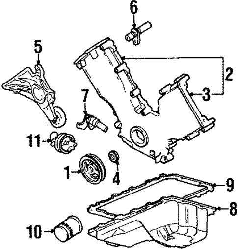 1996 Lincoln Town Car Parts Diagram Whitetail Deer Vital Area