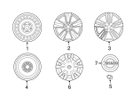 Wheel Cover - Nissan (40315-JN00B)