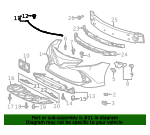 Front Weather-Strip - Toyota (53395-06070)