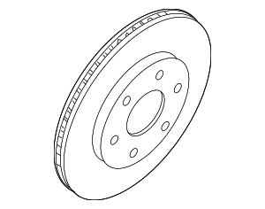 Rotor Disc Brake Front - Nissan (40206-ZC60A)
