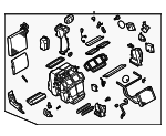 AC & Heater Assembly - Infiniti (27110-CL70A)