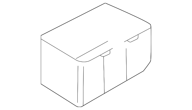 fuse box main lower cover
