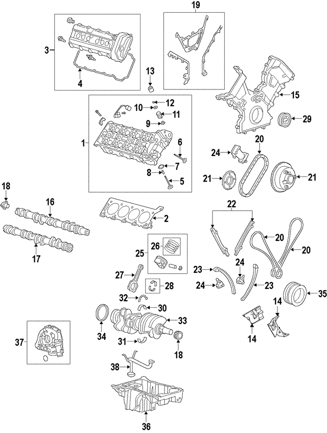 2005 2009 Land Rover Chain Guide 4536848