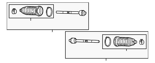 Genuine Ford Inner Tie Rod 6L2Z-3280-A
