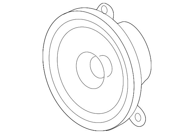 rear dr speaker