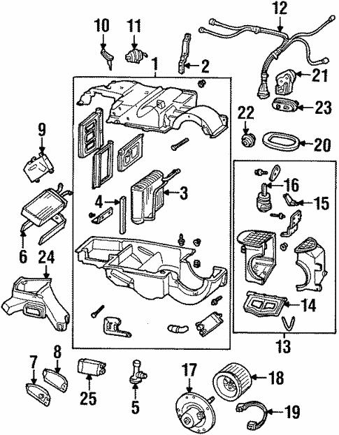Condenser Compressor Lines For 1994 Lincoln Mark Viii