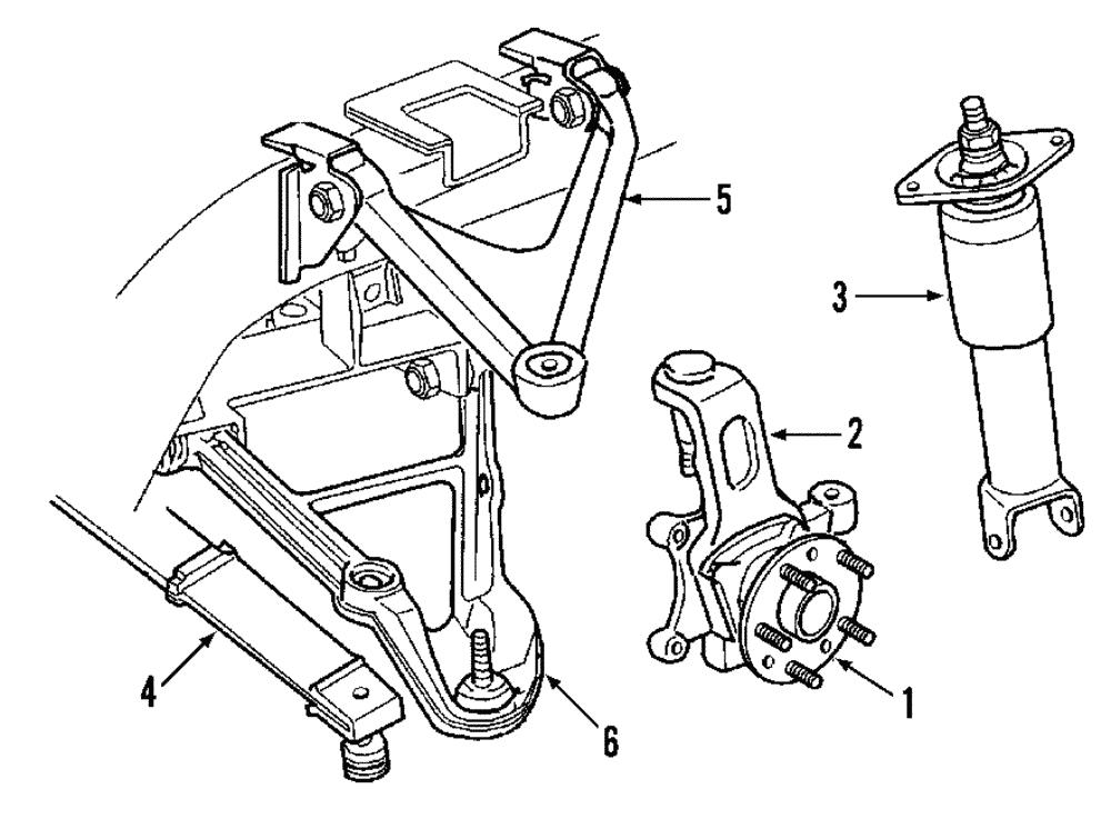 Genuine Gm Lower Control Arm 20799880