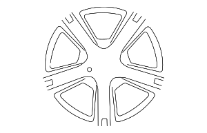 Wheel, Alloy - Toyota (42611-0R040)