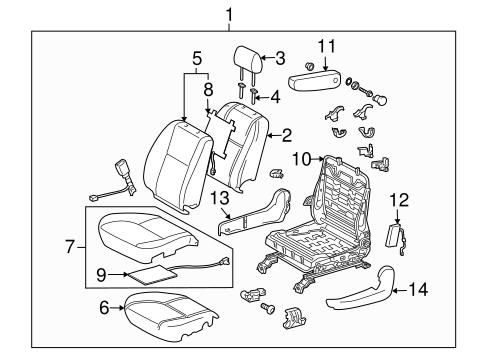 TOYOTA Genuine 71812-AA140-B1 Seat Cushion Shield