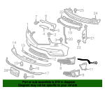 Bar, L In Garnish Cross - Acura (71109-TZ5-A00)