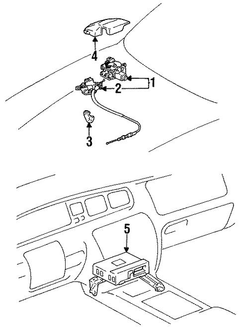 Cruise Control For 1996 Lexus Gs300